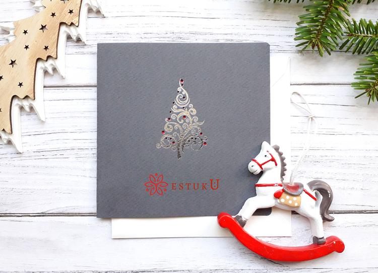 Kartki świąteczne Biznesowe C-24