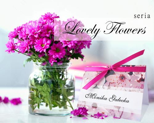 Winietki na Wesele - Lovely Flowers