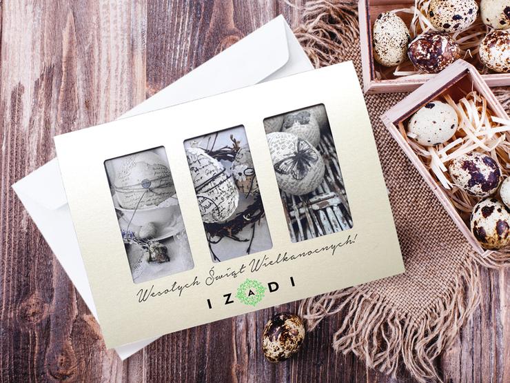 Kartki Wielkanocne LSKW-13 z kopertą