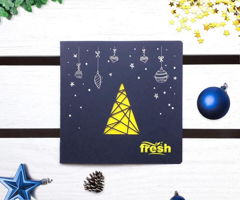 Karnety Bożonarodzeniowe dla firm - BB-01