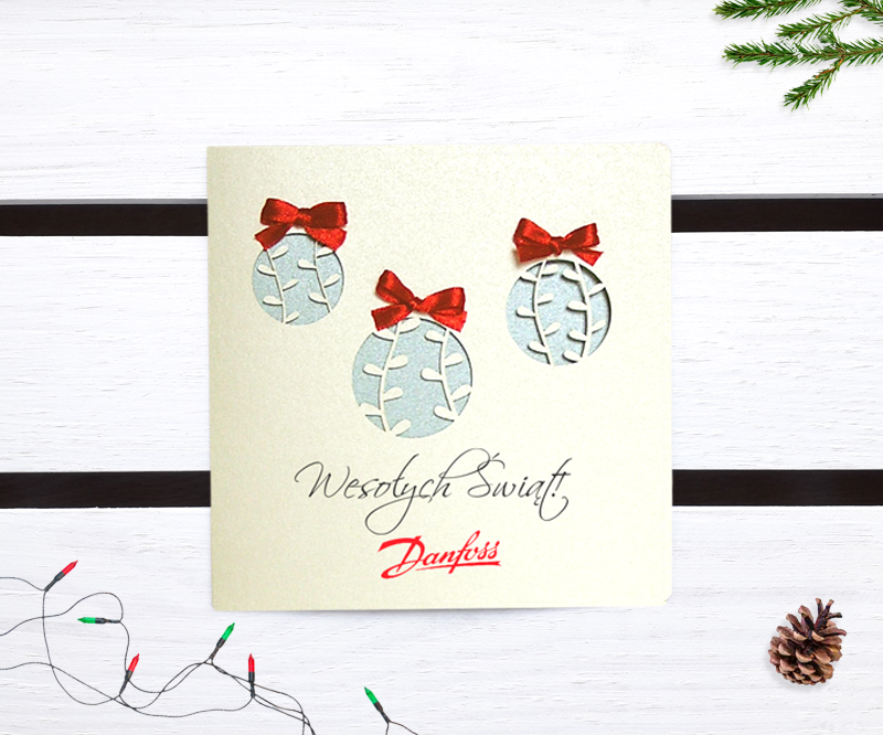 Karnet bożonarodzeniowy dla biznesu - LSBN012