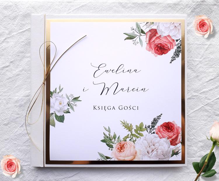 Księga Gości na wesele - Boho & glamour