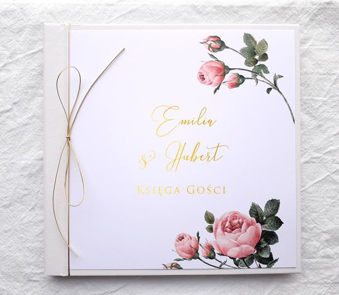 Księga Gości - Pink & gold