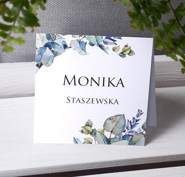 Winietki WZCHK1 - Liście malowane akwarelą