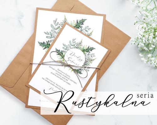 Modernistyczne Zaproszenia ślubne, zaproszenia na ślub sklep Łódź | PeggyBrown.pl QL49